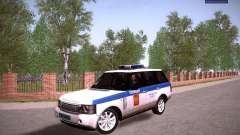 Range Rover Supercharged 2008 Полиция ГУВД