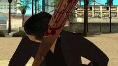 Кровавая бита с гвоздями HD