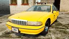 Chevrolet Caprice 1991 LCC Taxi