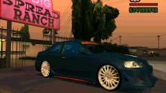 Honda Civic Tuned (исправленная) для GTA San Andreas