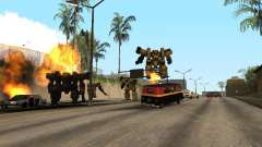 Трансформеры для GTA San Andreas