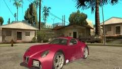 Alfa Romeo 8C GT3 RSX для GTA San Andreas