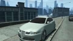 Alfa Romeo GT белый для GTA 4