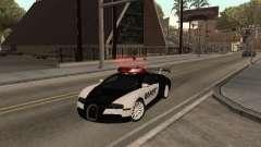 Bugatti Veyron Police