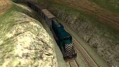 San Andreas Beta Train Mod