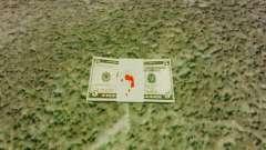 Денежные купюры США номиналом 5$ для GTA 4