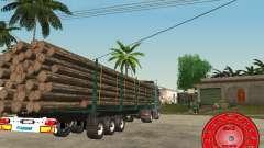 Прицеп KRONE лесовоз