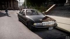 Chevrolet Caprice FBI v.1.0 [ELS] для GTA 4