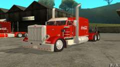 Peterbilt 379 Custom Coca Cola для GTA San Andreas