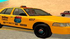 Ford Crown Victoria 2003 Taxi for state 99 для GTA San Andreas