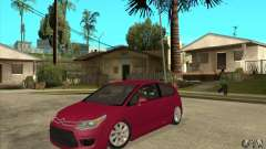 Citroen C4 VTS Coupe 2009 для GTA San Andreas