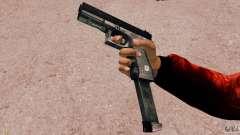 Glock 18 Akimbo (черно-серый) для GTA 4