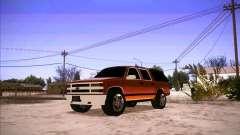 Chevrolet Suburban 1998 для GTA San Andreas
