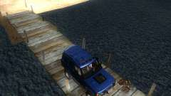 Landrover Discovery 2 Rally Raid для GTA San Andreas