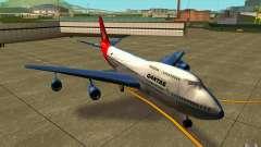 Boeing Qantas 747-400 для GTA San Andreas