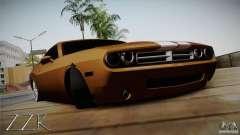 Dodge Challenger Socado Com Rotiform FIXA для GTA San Andreas
