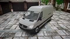 Mercedes Benz Sprinter Long Version для GTA 4