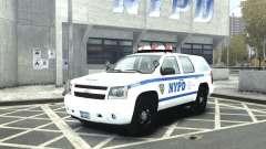 Chevrolet Tahoe NYCPD для GTA 4