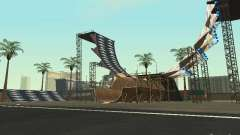 Drift track & stund map для GTA San Andreas
