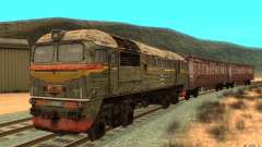 Поезд из игры Stalker