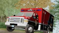 Ford E-350 AMR. Bone County Ambulance