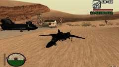 Y-f19 macross Fighter для GTA San Andreas