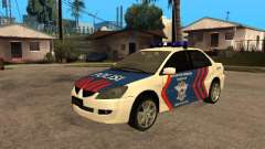 Mitsubishi Lancer Police Indonesia для GTA San Andreas
