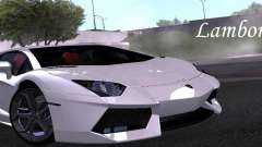 Lamborghini Aventador LP700-4 Final для GTA San Andreas