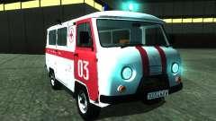 УАЗ 3962 Скорая помощь для GTA San Andreas