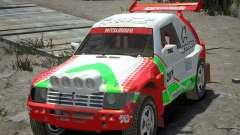 Mitsubishi Pajero Proto Dakar EK86 Винил 2