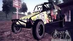 Багги Monster energy для GTA San Andreas