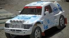 Mitsubishi Pajero Proto Dakar EK86 винил 3