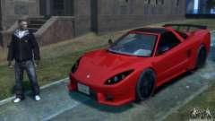 Acura NSX Veilside Fortune v 1.0 для GTA 4