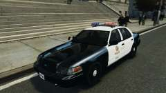 Ford Crown Victoria Los Angeles Police Department для GTA 4