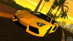 Lamborghini Aventador LP 700-4 для GTA Vice City