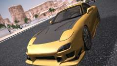 Mazda RX-7 FD3S C-West Custom для GTA San Andreas