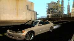 Lexus IS300 Drift белый для GTA San Andreas