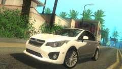 Subaru Impreza Sedan 2012 для GTA San Andreas