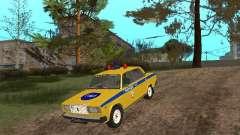 ВАЗ 2107 ГАИ для GTA San Andreas