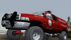 Dodge Ram 3500 Search & Rescue для GTA San Andreas