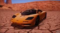 McLaren F1 v1.0.1 1994 для GTA San Andreas