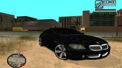 BMW M6 2006 для GTA San Andreas