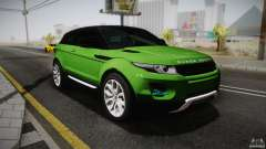 Land Rover Range Rover Evoque v1.0 2012 для GTA San Andreas