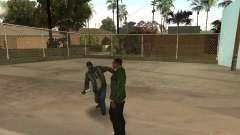 Разное поведение людей для GTA San Andreas