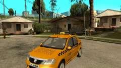Dacia Logan Taxi Bucegi для GTA San Andreas