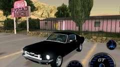 Ford Mustang Fastback для GTA San Andreas