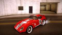 Shelby Cobra Daytona Coupe 1965 для GTA San Andreas