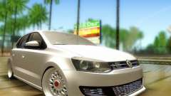 Volkswagen Polo 6R TSI Edit для GTA San Andreas