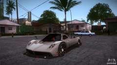 Pagani Zonda R для GTA San Andreas