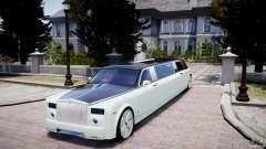 Rolls Royce Phantom Sapphire Limousine Disco